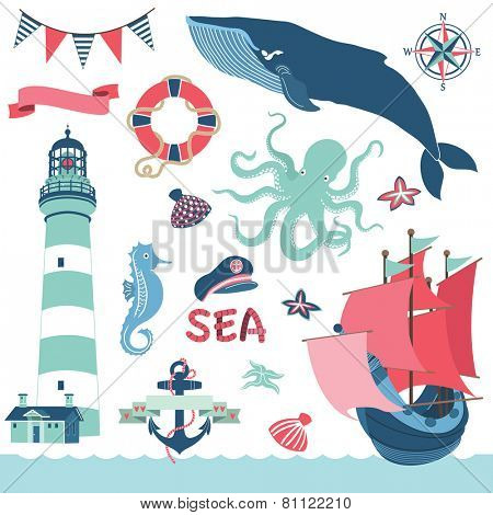 Nautical Sea Elements