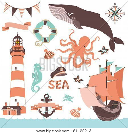 Nautical Sea Set