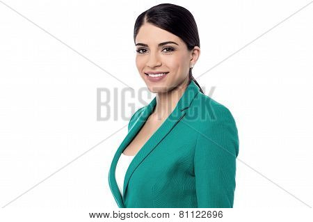 Attravctive Young Business Woman
