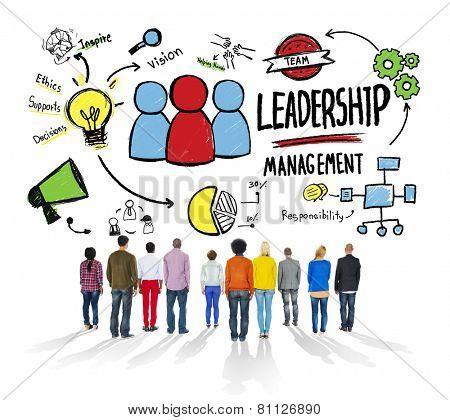 Diversity People Leadership Management Corporate Aspiration Concept