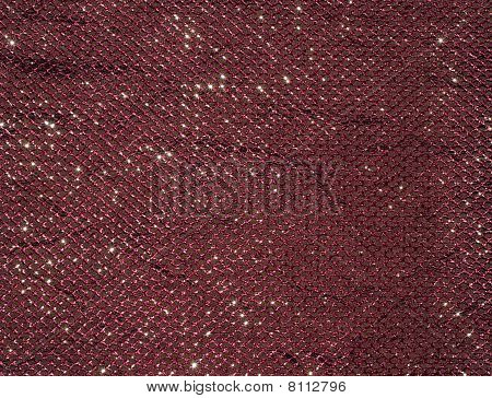 Abstract Red Fabric Texture
