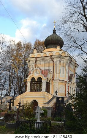 St. Nicholas Church In Alexander Nevsky Lavra.