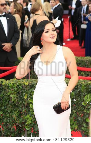 LOS ANGELES - JAN 25:  Ariel Winter at the 2015 Screen Actor Guild Awards at the Shrine Auditorium on January 25, 2015 in Los Angeles, CA