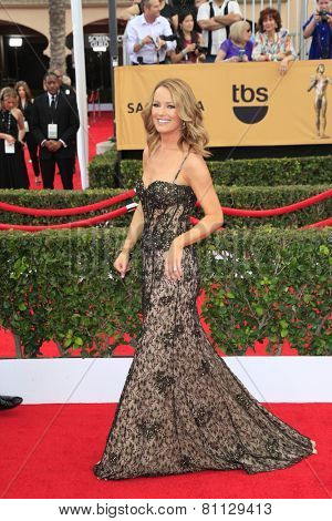 LOS ANGELES - JAN 25:  Brooke Anderson at the 2015 Screen Actor Guild Awards at the Shrine Auditorium on January 25, 2015 in Los Angeles, CA
