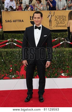 LOS ANGELES - JAN 25:  Matt McGorry at the 2015 Screen Actor Guild Awards at the Shrine Auditorium on January 25, 2015 in Los Angeles, CA