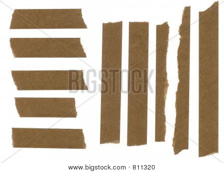 Masking paper tape strip