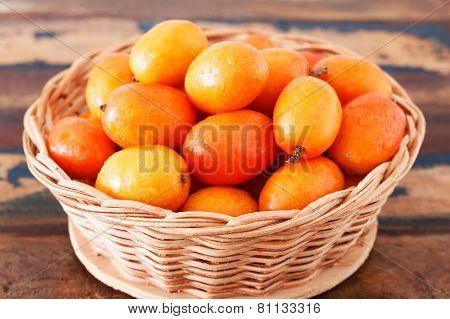 Fresh Fruit Jocote (red Mombin, Purple Mombin, Hog Plum, Ciruela Huesito, Sineguela,  Siriguela)