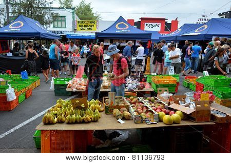 Rotorua Night Market - New Zealand