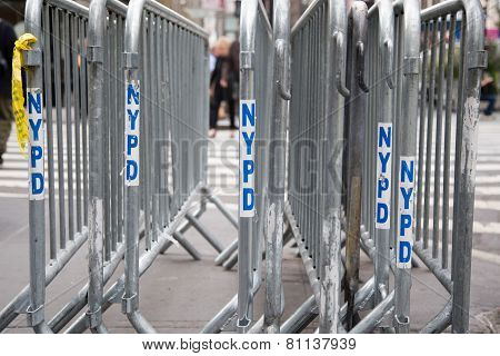 New York Police Department Fence