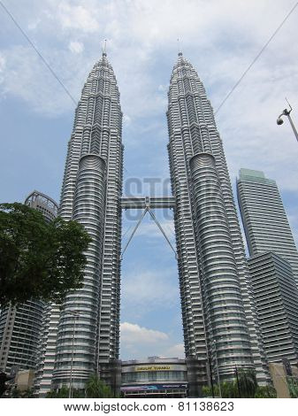 Modern Petronas Twin Towers
