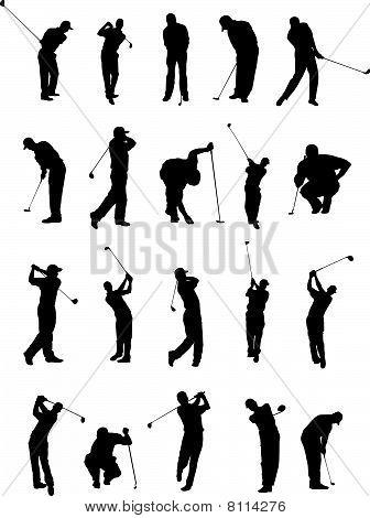 Golf Poses