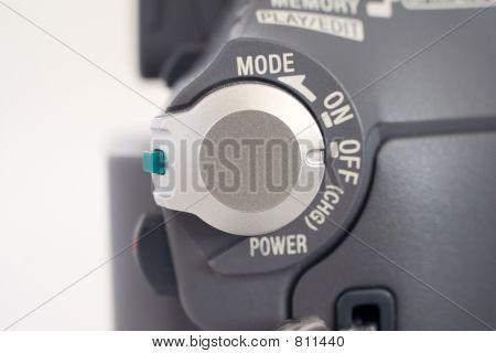 Camcorder close up