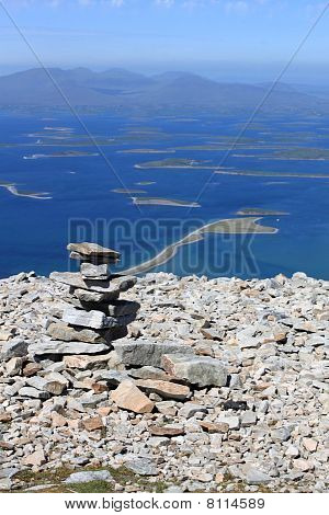 Cairn on Croagh Patrick