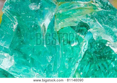 Green Quartz Stone Background,