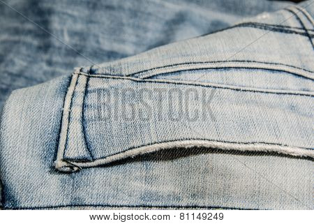 Jeans Texture use as background ,  Jeans