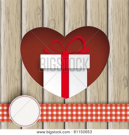 Heart Hole Gift Carton