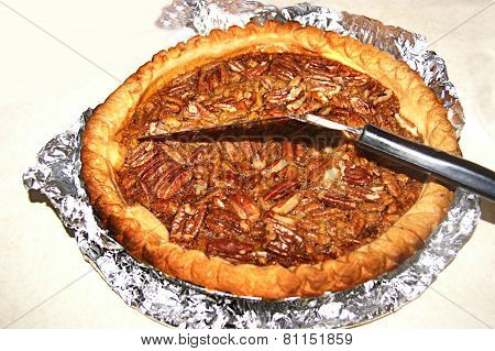 Fresh Baked Southern Pecan Pie