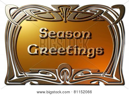 Season Greetings (Framed)