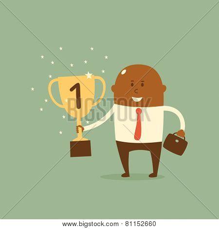 Business concept - Winner
