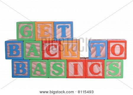 Get Back To Basics