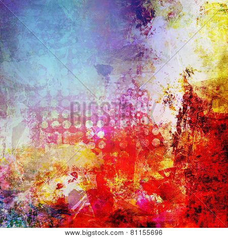Abstract Paint Texture Artwork