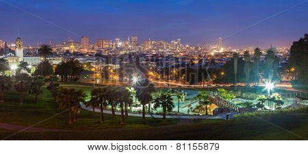Dolores Park At Night