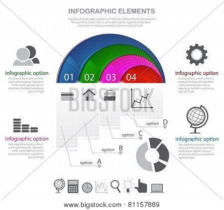 Infographic Elements And Icons