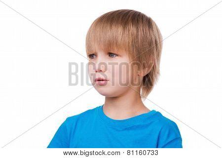 Little Boy Crying.