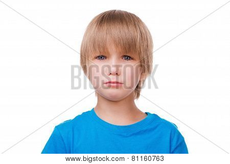 Little Boy Crying.