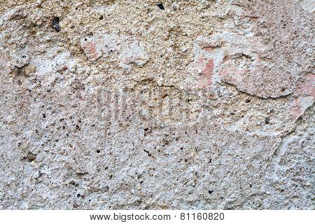 Aged gray wall