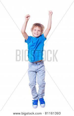 Happy Little Boy.