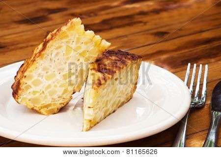Spanish Omelet. tortilla