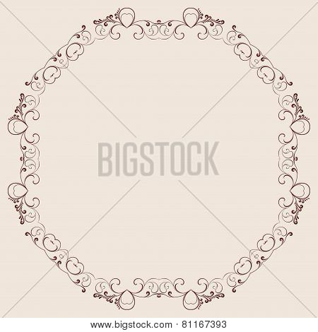 Decorative Ornament For Background