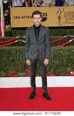 LOS ANGELES - JAN 25:  Travis Tope at the 2015 Screen Actor Guild Awards at the Shrine Auditorium on January 25, 2015 in Los Angeles, CA