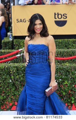 LOS ANGELES - JAN 25:  Laura Gomez at the 2015 Screen Actor Guild Awards at the Shrine Auditorium on January 25, 2015 in Los Angeles, CA