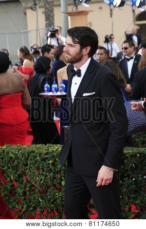 LOS ANGELES - JAN 25:  Timothy Simons at the 2015 Screen Actor Guild Awards at the Shrine Auditorium on January 25, 2015 in Los Angeles, CA