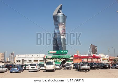 Al Tijaria Tower In Kuwait City