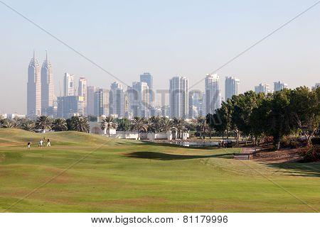 Golf Course in Dubai