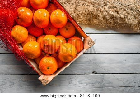 Clementines In A Box
