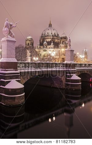 Berlin Cathedral - Evangelical Supreme Parish And Collegiate Church. Berlin, Germany