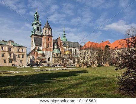 Hermosa arquitectura polaca de Cracovia Polonia