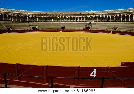 Spanish Bullfight Arena Sevilla