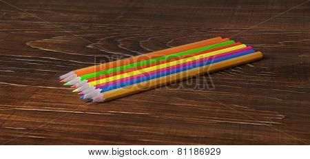 Multicolored Pensils