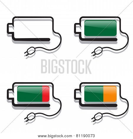 Batteries With Creative Views