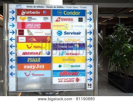 Airport Info Board