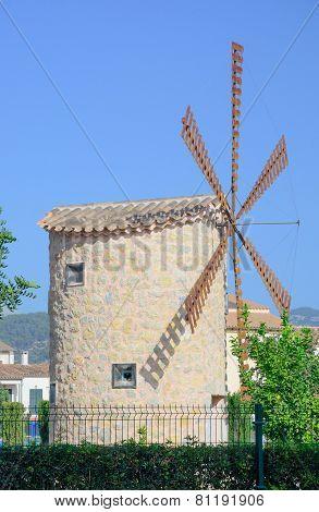 Windmill In Binissalem