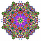 pic of east-indian  - mandala - JPG