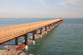 pic of kuwait  - Pier in Kuwait City Middle East - JPG