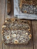 image of sunflower-seeds  - Flourless bread with sunflower - JPG