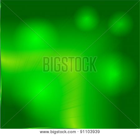 Vector abstract blur background green and fresh bokeh